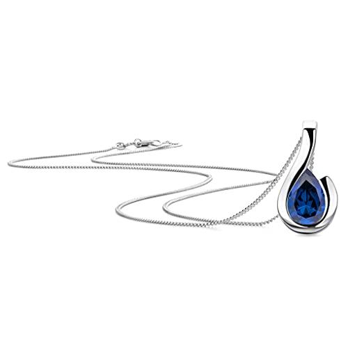 Orovi Mujer 9 k (375) oro blanco Sapphire