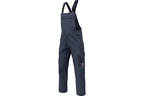 WÜRTH MODYF Basic Latzhose : Die preiswerte Latzhose ist in der Größe 26 erhältlich. Die Hose mit elastischem Bund ist in Marineblau verfügbar. Die wertige Latzhose mit Reflektorstreifen!