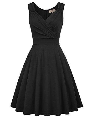 Robe de Soirée/Bal Courte Rétro Style Audrey Hepburn Rockabi