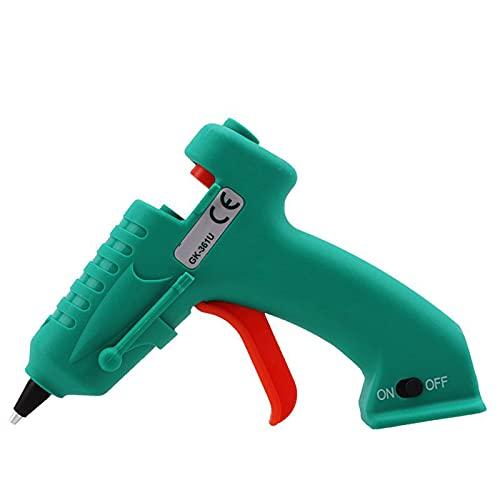 Pistola de Silicona Caliente inalámbrica industrial Cable USB Recargable Pistola de pegamento inalámbrica para Manualidades Bricolaje y proyectos Escolares Pistola de Pegamento caliente electrica