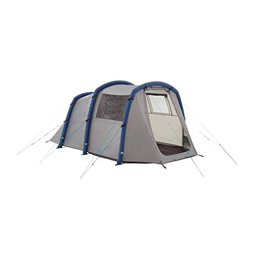 Eurohike Genus 400 Easy To Pitch 4 Person Inflatable Tunnel Tent, Grey, One Size