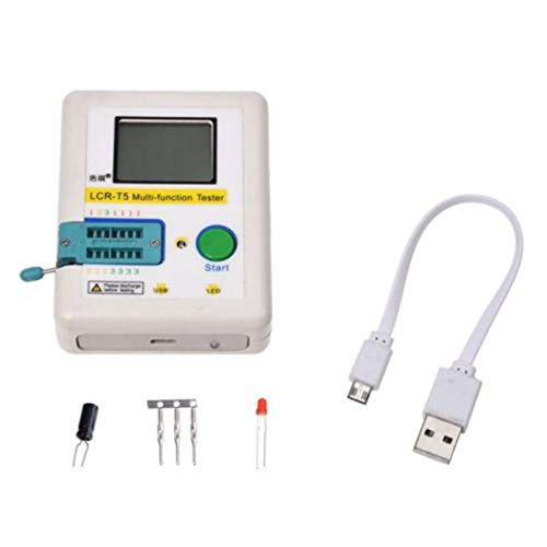 Ballylelly LCR-T5 Multifunktions Tester Hintergrundbeleuchtung LCD Transistor Tester NPN PNP MOSFET Diode Triode Kapazität ESR Meter