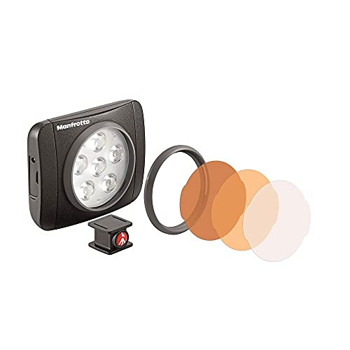 Manfrotto Lumimuse 6 - Luz LED y accesorios, color negro