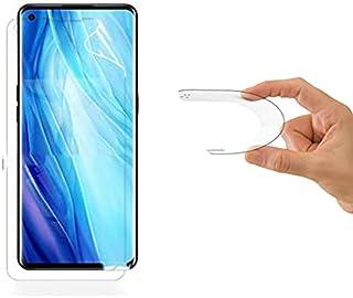 واقي الشاشة Oneplus 9R من الجيلاتين الشفاف وليس من الصعب مقاومة للخدش