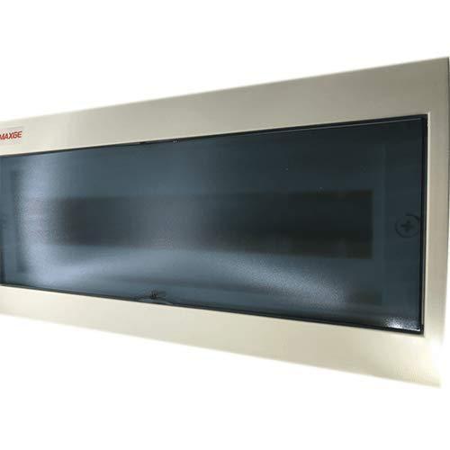 Caja distribucion electrica Superficie IP30 de 18 modulos Blanco, Cablepelado®