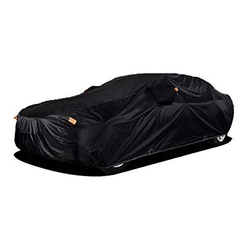 Autoplanen & Garag Kompatibel mit Audi A4 A5 A6 A7 A8 Auto Full Hood Manor wasserdichtes Tuch wasserdichten Auto-Abdeckung Sonnenschutz Ganzkörperabdeckung ( Color : Black , Size : A5 )