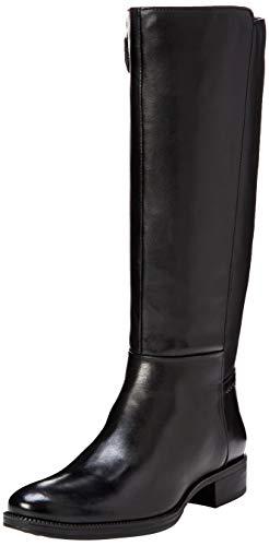 Geox D84BFA Damen Stiefel Black, EU 39
