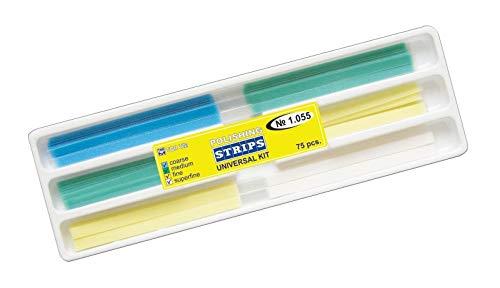 Zubastick Dental Finishing Polishing Strips Universal Kit 75 psc