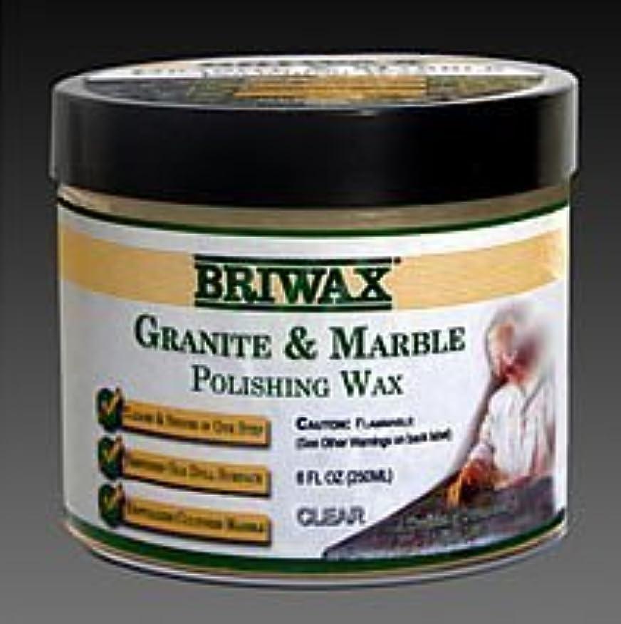 難破船パッケージゴネリルBriwax Granite & Marble Polishing Wax Clear [並行輸入品]
