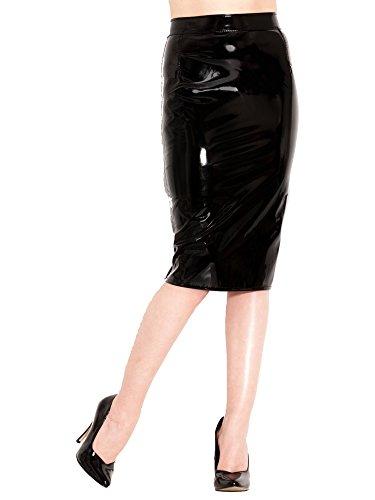 Monroe Potlood Rok voor Dames Vrouwen - Zwart - Sexy Fetish - 3XL (UK 20)