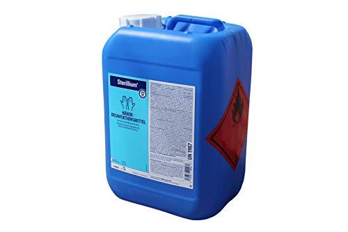 Hände-Desinfektionsmittel Sterillium, Kanister, Inhalt 5 Liter