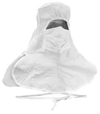 Kimberly-Clark 49828 KIMTECH Pure A5 Bulk Integrated Hood and Mask, Universal, White (Pack of 75)