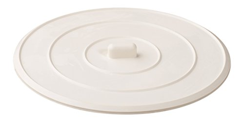 Rubber Sink Stopper, Shower, Bathtub, Self-Sealing, Universal, For Kitchens, Bathrooms And Laundries, Flat Suction Drain Plug  White. (Original Version)