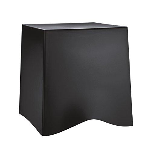 koziol Hocker BRIQ, thermoplastischer Kunststoff, schwarz, 42.8 x 40.6 x 41.6 cm