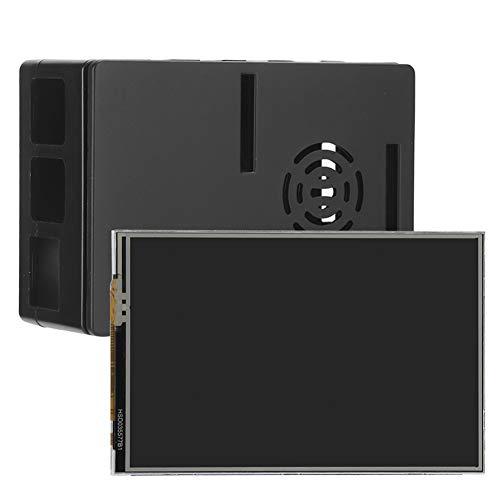 AMONIDA 480×320 Resolution 90 X 61 X 35Mm For Raspberry Pi 4B Case, 3.5in Display For Raspberry Pi Case, for The Motherboard Of For Raspberry Pi 4B/3B+/3B/2B