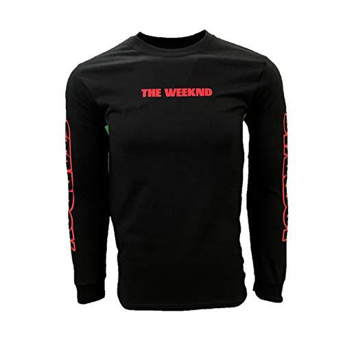 The Weeknd Starboy Logo red Block Shirt