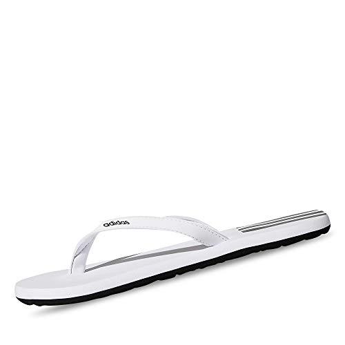 Adidas Women Eezay Flip Flop FTWR White Core Black 6 UK (EG2038)