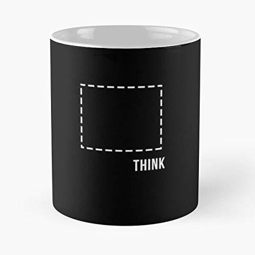 Box Joking Around Idioms Jokes Puns Think Sayings Lover Humor The Pun Outside Best 11 Ounce Ceramic Coffee Mug Best - Taza de café (350 ml), diseño de café