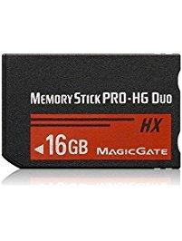 XinHaoXuan 16GB Memory Stick Pro-HG Duo (MS-HX16A) für Sony PSP Zubehör/Kamera Speicherkarte