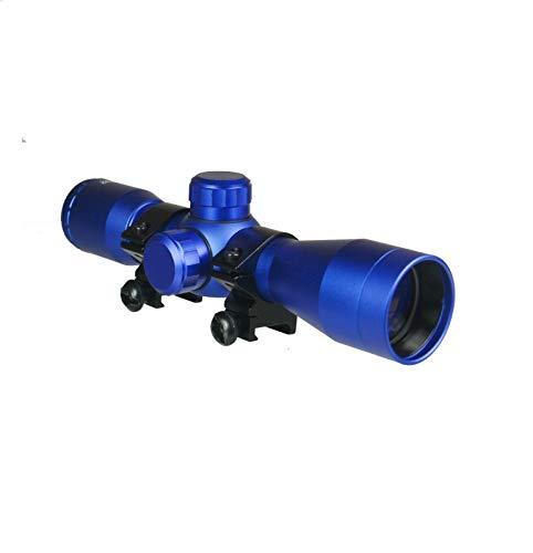 DB TAC INC 4x32 Anodize Blue Color Mil-dot Reticle Slug Scope Picatinny Weaver Mounted Aluminum Hunting Optics Accessory