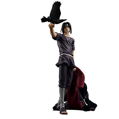 Naruto: Shippūden Itachi Uchiha Crow Animado De 23cm Modelo De Acción Estatua Figura Regalo De Los Niños Uchiha Itachi