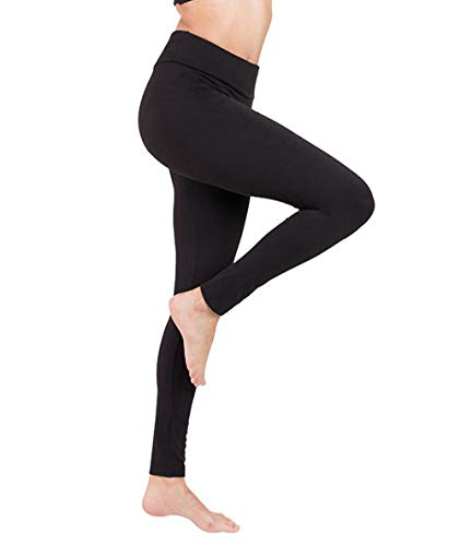 Chinch high Waist Fitness Leggings, Yoga Pants, Suitable for Women, Moisture Absorption and Quick Drying, Fitness Sports Running (Black, m)