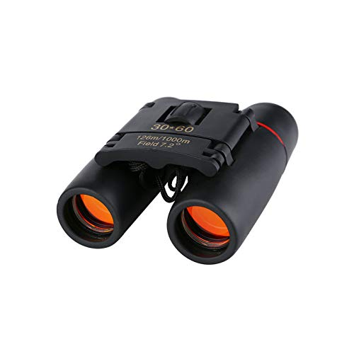 Fernglas 30 x 60 HD Kompaktfernglas,iMeshbean Fernglas Klein für Erwachsene und Kinder Wasserfest Binoculars mit Nachtsicht-Funktion, Mini Teleskop für Vogelbeobachtung,Jagd,Wandern, Besichtigung