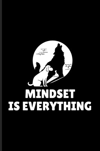Mindset Is Everything: Vision & Attitude Journal | Notebook | Workbook For Business & Psychology Lovers - 6x9 - 100 Graph Paper Pages