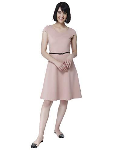 VERO MODA Damen Kleid rosa XL (42)