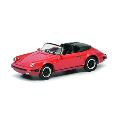 Schuco 452637600, rood 452637600-Porsche 911 3.2, 1:87, modelauto, modelvoertuig