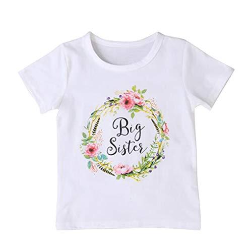 Floridivy Cotton leuke baby grote Sister tops Little Brothers zus rompler spel kleding kleine kinderen bloemen jumpsuit