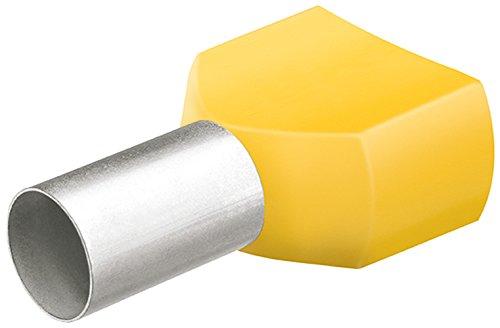 KNIPEX 97 99 376 Twin-Aderendhülsen mit Kunststoffkragen