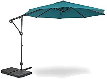 Home Zone Living 10ft Offset Cantilever Patio Umbrella