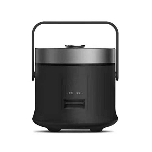 X-LSWAB Slow Cooker Edelstahl Nonstick Topf 3 Heizstufen einschließlich warm halten Mit Funktion Reiskocher Digitalen Slow Cooker 2,0 Liter - LCD-Display Geeignet for Porridge Koch (Color : F)
