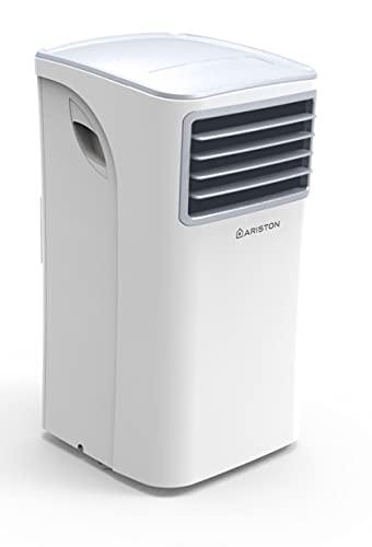 Ariston Mobis 8.000 Btu, Climatizzatore Portatile, Classe A, Bianco
