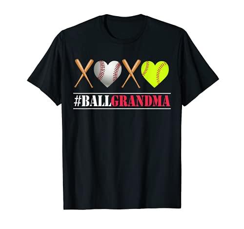 Ball GRANDMA Shirt Softball GRANDMA Tee Baseball GRANDMA Tee