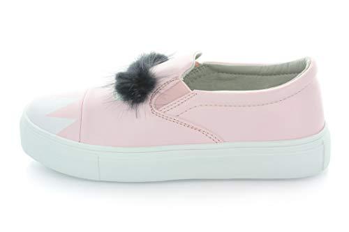 Charlie Monster Fur Slip-On Sneaker - Pink