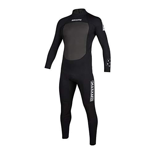 Mystic Watersport - Surf KiteSurf & Windsurfen Mens Brand 3/2mm Back Zip Wetsuit - Zwart - Easy Stretch