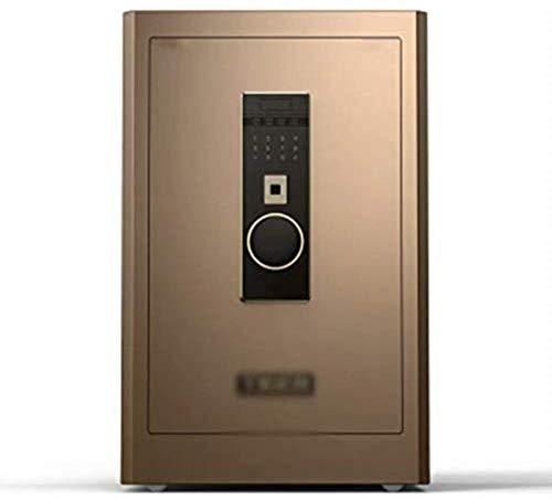 ADSE Cajas Fuertes Hogar Electrónico con Huella Digital Hogar Oficina Electrónica Antirrobo 40 * 36 * 60Cm