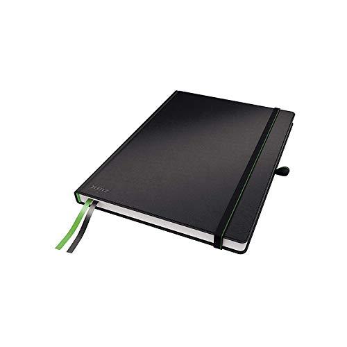 Leitz 44710095 Complete Notizbuch (A4, kariert) schwarz