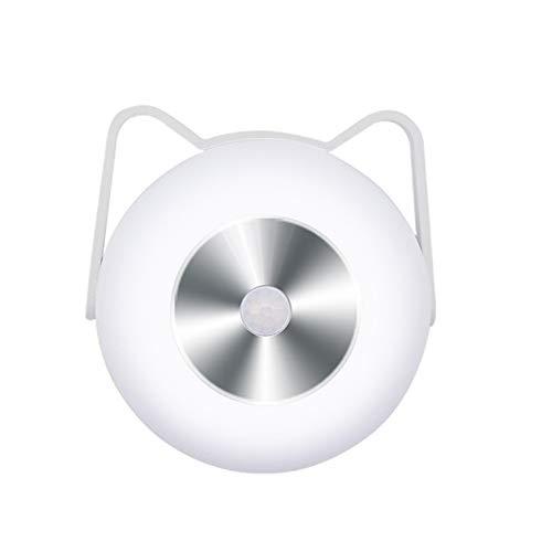 Luz Inalámbrica Debajo del Gabinete, Luz con Sensor De Movimiento PIR, Lámpara De Noche para Guardarropa Recargable, Use 3 Pilas AA (No Incluidas), para Cocina, Dormitorio