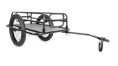 Cycle Force Apollo Trail-Monster Cargo Trailer, Matte Black
