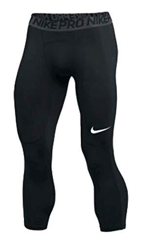 Nike Mens Pro Tight ¾ Length Black Size Large