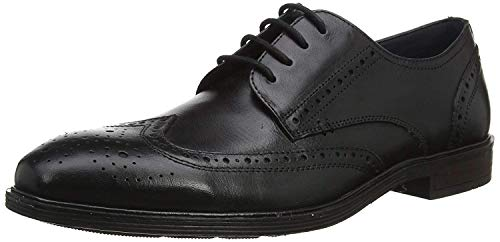 Josef Seibel Herren Businessschuhe Jonathan 05,Weite G (Normal),lose Einlage,klassisch,elegant,maennlich,Men\'s,schnürschuhe,schwarz,43 EU / 9 UK