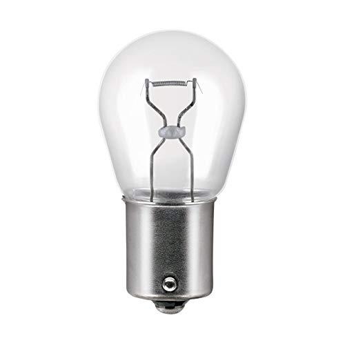 OSRAM ULTRA LIFE P21W, lámpara de señalización halógena, luz de freno, luz adicional trasera, 7506ULT-02B, automóvil de 12 V, ampolla doble (2 unidades)