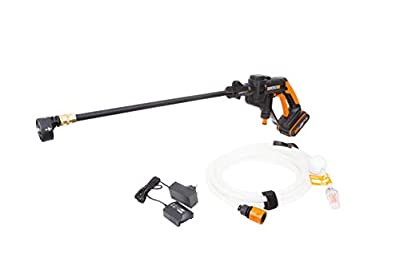 WORX WG620E.4 18V (20V Max) Cordless Hydroshot Portable Pressure Cleaner Kit with 2 Batteries from WORX