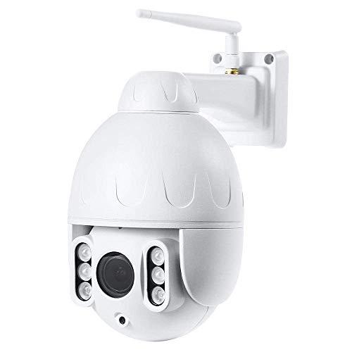 safc IP-Kamera 1080P mit Zwei-Wege-Audio-Infrarot-Nachtsichterkennung Drahtlose WiFi-wasserdichte PTZ-Kamera mit 16-fachem Zoom und automatischem Tracking-Monitor