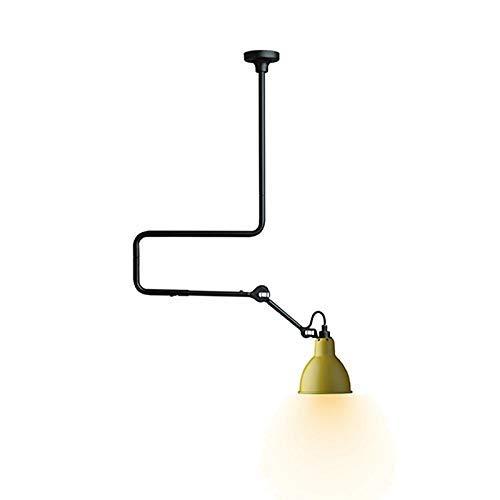 Candelabros nórdico minimalista personalidad creativa retro accesorio de techo americano 85-265 V amarillo