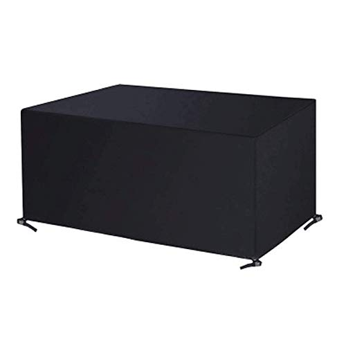 YQGOO Funda para Muebles De Jardín, Impermeable Anti-UV con Hebilla De Cuatro Esquinas Cubiertas Protectoras De Tela Oxford 420D para Exteriores