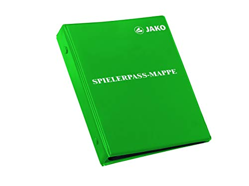 JAKO Spielerpass-Mappe, Grün, One Size